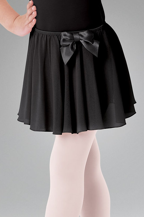 Elasticated Ballet Skirt with Bow
