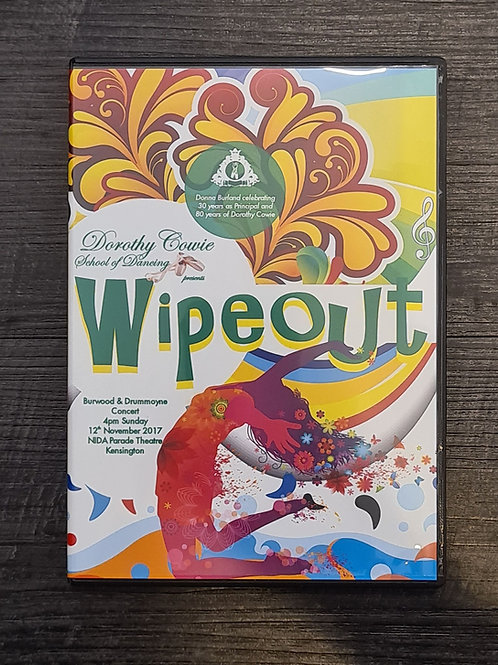 2017 'Wipeout' - Concert DVD