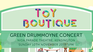 "GREEN ""TOY BOUTIQUE"" Ticket Information 2019"