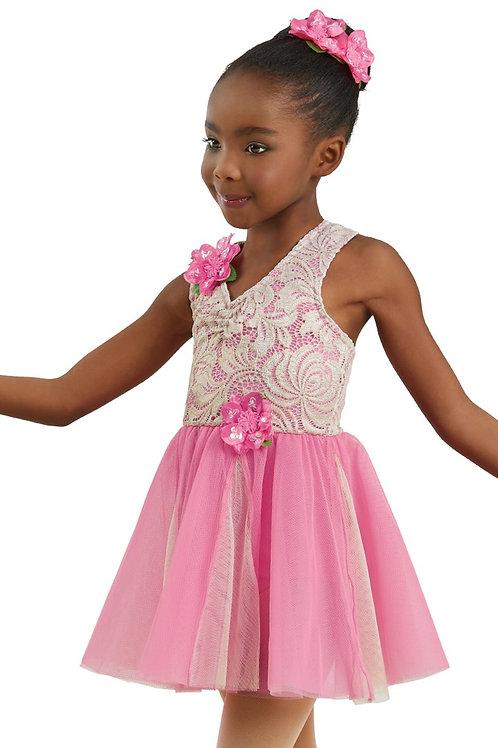 Pink Babydoll Ballet Dress