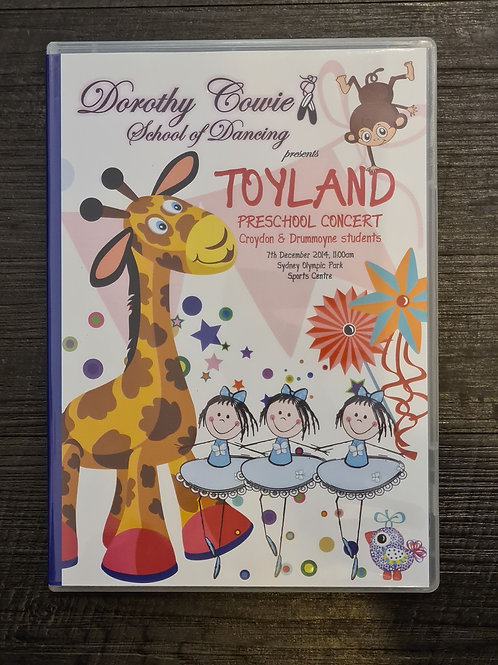 2014 'Toyland' - Concert DVD