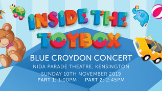"BLUE ""INSIDE THE TOYBOX"" Ticket Information 2019"