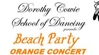 """ORANGE """"Beach Party"""" Concert Tickets"""