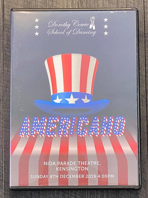 2019 - 'Americano' - Concert DVD