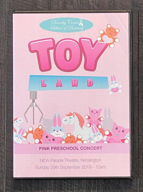 2019 - 'Toy Land' - Concert DVD