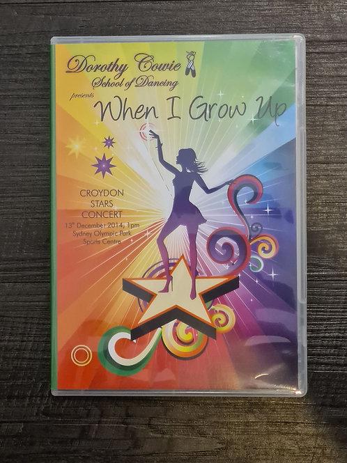 2014 'When I Grow Up' - Concert DVD