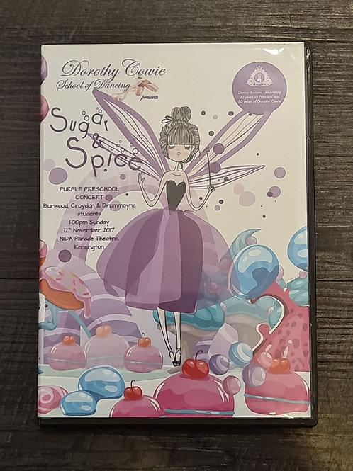 2017 'Sugar & Spice' - Concert DVD
