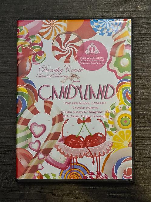 2017 'Candyland' - Concert DVD
