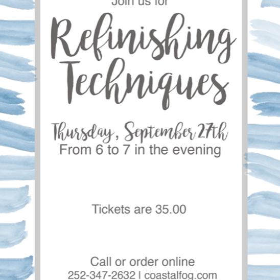 Refinishing Workshop