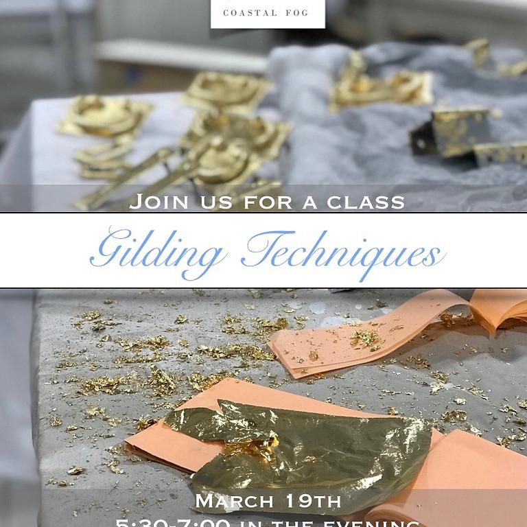 Gilding Techniques