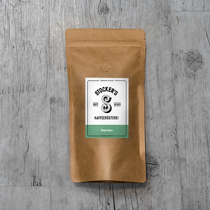 Kaffee: Espresso, Kaffeesack