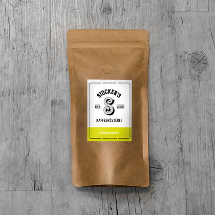 Kaffee: Chanchamayo, Kaffeesack