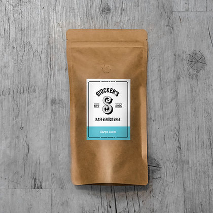 Kaffee: Carpe Diem, Kaffeesack