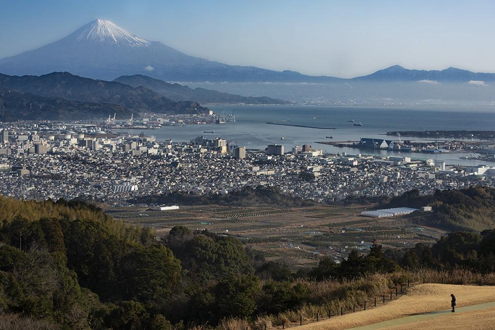 The view of Suruga Bay + Fuji-san