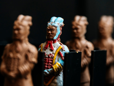 EVENT: Paint your own chocolate terracotta warriors at Asian high tea in Melbourne!! ON NOW