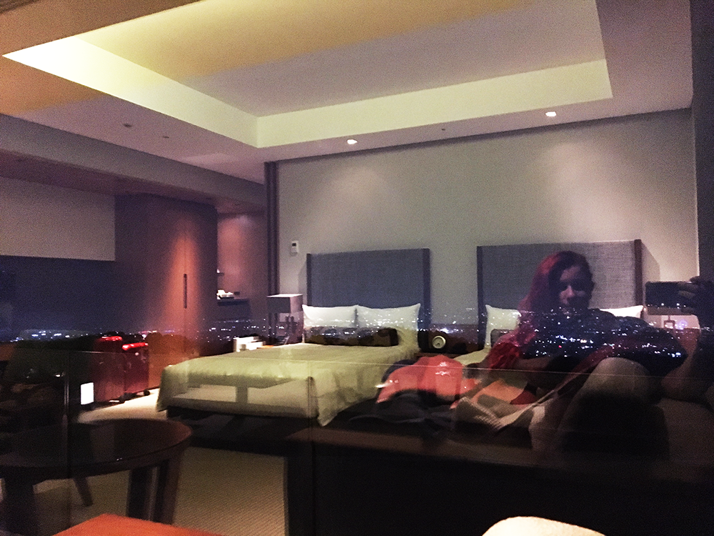Reflecting on the room