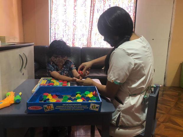Terapia Ocupacional (Integración sensorial y desarrollo de avd)