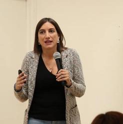 Macarena Kreftt en Seminario Gratuito de TEA