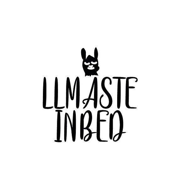 Llmaste in bed | Free download Printable Sarcastic Quotes T- Shirt Design in Png