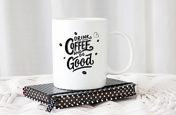Drink coffee and do good | Coffee mug Funny Quotes Eps Svg Dxf Png