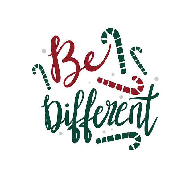 Be different | Free download Iron on Transfer Sassy Quotes T- Shirt Design in Png