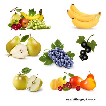Awesome Different & Healthy Fresh Farm Fruits and Vegetables | Food clipart png free download