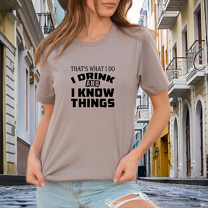 That's what i do i drink SVG | Iron on Transfer Slay and Silly T-shirt Quotes