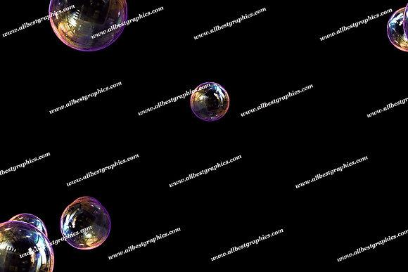 Awesome Bathroom Bubble Overlays | Unbelievable Photo Overlays on Black