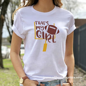That's My Girl | Sport Quotes & Signs for Silhouette Cameo and Cricut