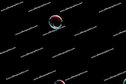 Dreamy Rainbow Bubble Overlays   Unbelievable Photo Overlays on Black