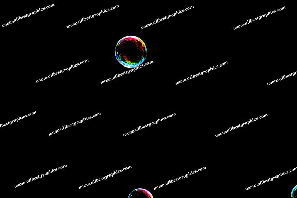 Dreamy Rainbow Bubble Overlays | Unbelievable Photo Overlays on Black