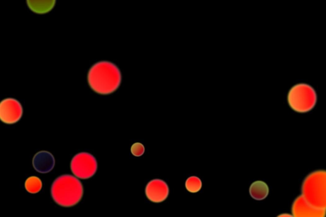 Gorgeous Festival Light Bokeh Clipart on black background | Free Download