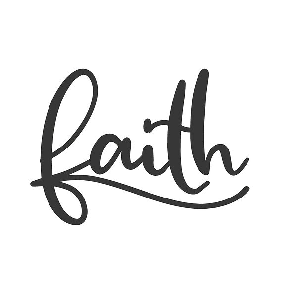 Faith Png | Free Printable Slay & Silly Quotes T- Shirt Design in Png