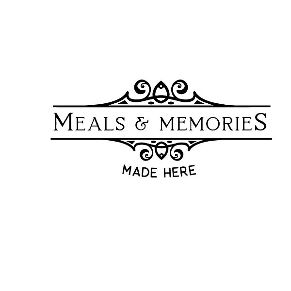Meals and memories made here Png   Free download Printable Sassy Quotes T- Shirt Design in Png
