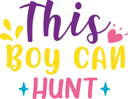 This Boy Can Hunt | Happy Easter and Bunny Quotes & Signs Cut files in Svg