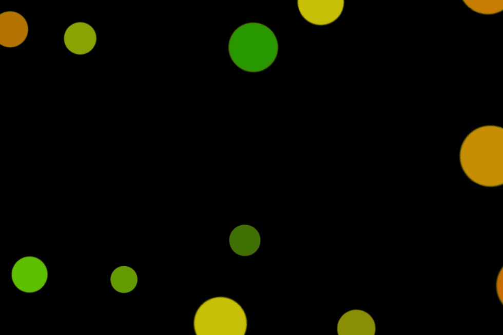 Gorgeous Party Light Bokeh Texture on black background | Photoshop Overlays