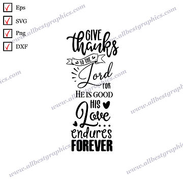 Give Thanks   Best Cool Quotes Christmas Décor SVG Dxf Png Eps