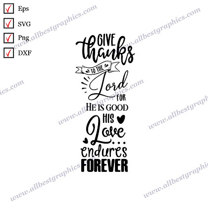 Give Thanks | Best Cool Quotes Christmas Décor SVG Dxf Png Eps