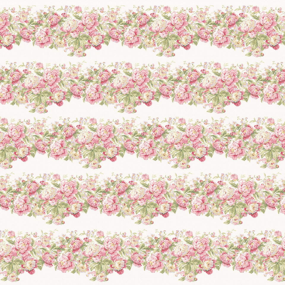 Shabby Chic roses digital paper with seamless design | Scrapbook Digital Papers