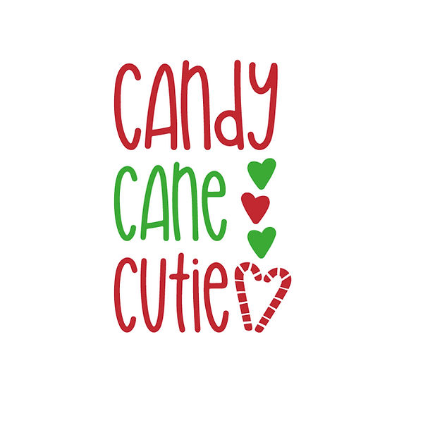 Candy cane cutie | Free download Printable Sarcastic Quotes T- Shirt Design in Png