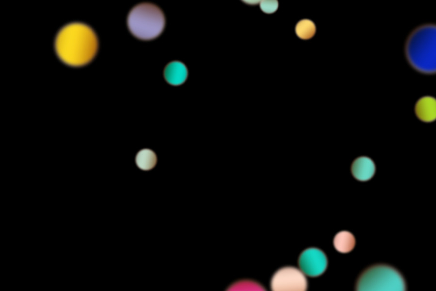 Colorful Party Light Bokeh Background on black background   Free Overlays
