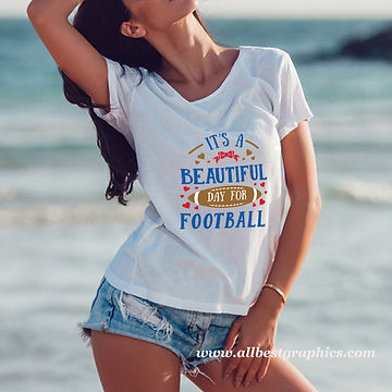It's a Beautiful Day For Football | Slay and Silly Sport Quotes & Signs in Svg