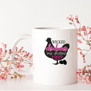 Wicked Chikens Lay Deviled Eggs   Best Kitchen SignsCut files inSvg Dxf Eps