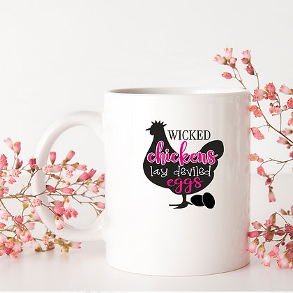 Wicked Chikens Lay Deviled Eggs | Best Kitchen SignsCut files inSvg Dxf Eps