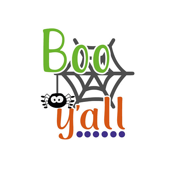 Boo yall   Free download Printable Funny Quotes T- Shirt Design in Png