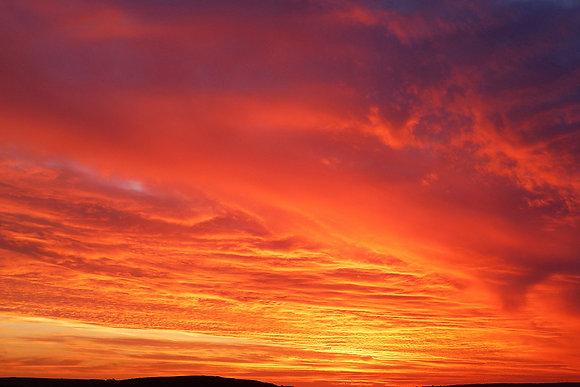 Florida sky sunset photo overlays size - 5400x3600 300ppi