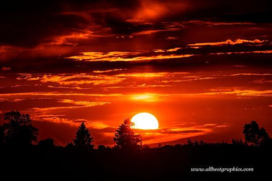 Adorable spectacular sunset sky overlay | Ps Photo Overlays