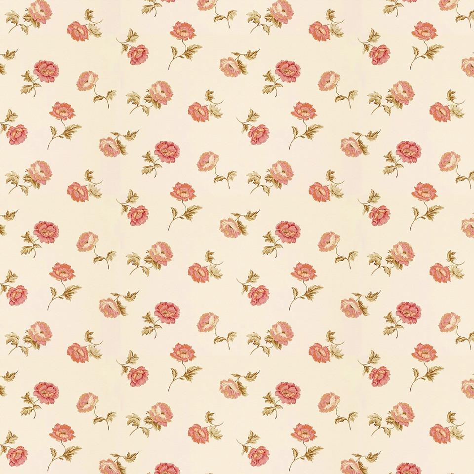 Vintage floral digital paper with peonies | seamless Digital Paper