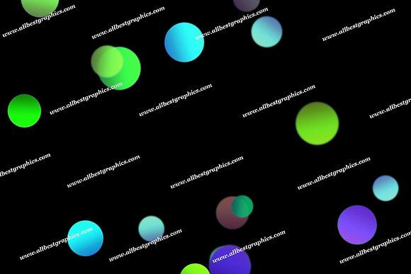 Wonderful Soft Lights Bokeh Clip Art | Excelent Photo Overlay on Black