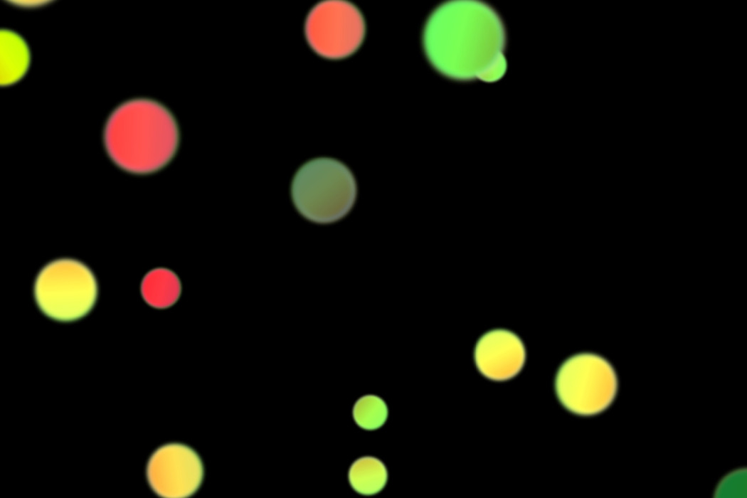 Beautiful Party Light Bokeh Effect on black background | Free Overlays